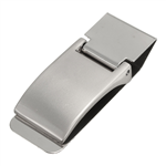 Fold Closure Stainless Steel Money Clip