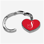 Foldable Heart Bag Purse Hanger