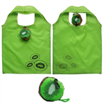 Kiwi Shape Foldable Grocery Tote Bag