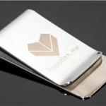 Mirror Finish Money Clip
