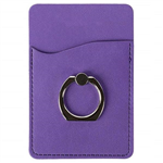 PU Leather Phone Holder w/ Ring Stand